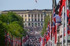 Giorno norvegese di costituzione Immagini Stock