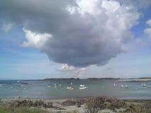 giorno nuvoloso Immagine Stock