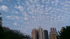 giorno nuvoloso immagini stock libere da diritti