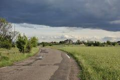 Giorno nuvoloso J fotografia stock