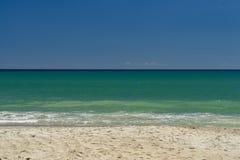 Giorno perfetto alla spiaggia Fotografia Stock Libera da Diritti