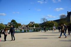 Giorno perfetto del DES Tuileries di Jardin Fotografia Stock Libera da Diritti