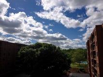 Giorno perfetto dell'immagine in Rocky Hill Connecticut fotografie stock