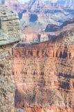Giorno pieno di sole del grande canyon con cielo blu Immagine Stock Libera da Diritti