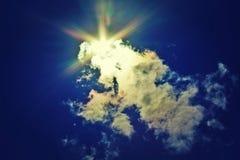 Giorno pieno di sole di estate fotografia stock