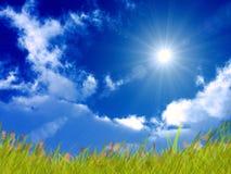 Giorno pieno di sole luminoso Fotografia Stock