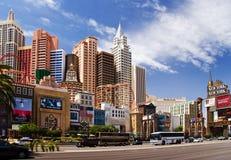 Giorno pieno di sole a Vegas Fotografia Stock