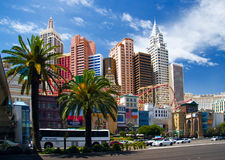 Giorno pieno di sole a Vegas Fotografia Stock Libera da Diritti
