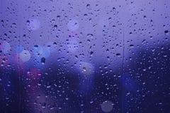 Giorno piovoso Fotografie Stock