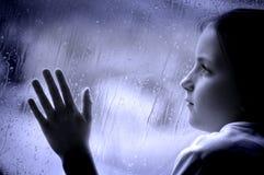 Giorno piovoso Immagini Stock Libere da Diritti