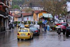 Giorno piovoso ad aprile Immagini Stock Libere da Diritti