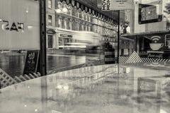 Giorno piovoso al caffè 2 Immagine Stock Libera da Diritti