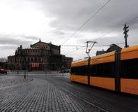 Giorno piovoso a Dresda Fotografia Stock