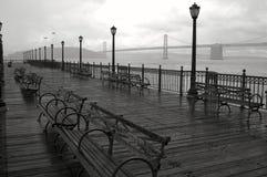 Giorno piovoso a San Francisco. Immagine Stock