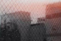 Giorno piovoso a Tokyo fotografie stock libere da diritti
