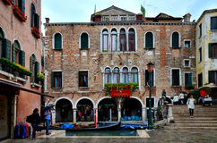 Giorno piovoso a Venezia immagine stock