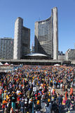 Giorno sikh di Khalsa a Toronto Fotografie Stock Libere da Diritti