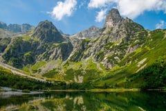 Giorno soleggiato in alto Tatras Fotografia Stock