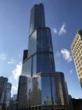 Giorno soleggiato della torre di Trump Immagine Stock