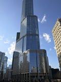 Giorno soleggiato della torre di Trump Fotografia Stock