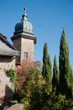 Giorno soleggiato di autunno in Baden Baden bavaria immagine stock