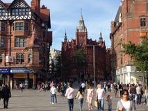 Giorno soleggiato a Nottingham fotografia stock libera da diritti