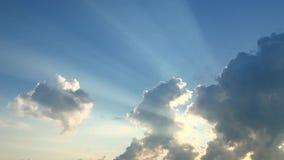 Giorno soleggiato pacifico video d archivio