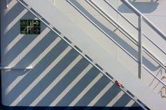 Giorno soleggiato sulla nave Fotografia Stock Libera da Diritti