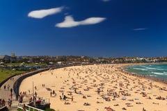 Giorno su una spiaggia Fotografia Stock Libera da Diritti