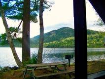 Giorno sul lago fotografia stock
