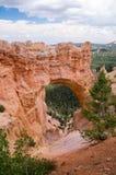 Giorno tempestoso a Bryce Canyon Arch Fotografia Stock Libera da Diritti