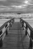 Giorno tempestoso sul golfo del Messico Immagini Stock