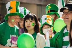 Giorno Yokohama, Giappone della st Patrik Fotografia Stock