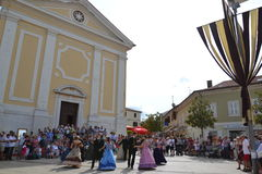 Giostra historical festival Royalty Free Stock Images