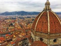 Giotto's dzwonnica, Florencja, Włochy fotografia royalty free