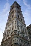 Giotto钟楼 免版税库存照片