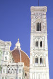 giotto Ιταλία s της Φλωρεντίας duomo & Στοκ φωτογραφία με δικαίωμα ελεύθερης χρήσης