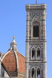 Giotto Bell Tower in Florence royalty free stock photo