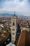 The giotto bell tower. In Florence Royalty Free Stock Image