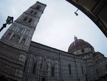 Giotto belltower, Florence Cathedral Stock Foto