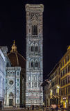 Giotto Campanile in evening, Florenca, Italy Royalty Free Stock Photography