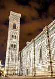 Giotto Campanile at the Florence Cathedral Stock Image