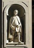 Giotto di Bondone, Florenz Stockbild