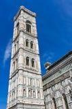 Giotto dzwonnica, Florencja Obraz Stock