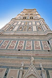 Giotto's Bell Tower By Cathedral Stock Photos