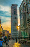 Giotto`s Bell tower Florance royalty free stock image