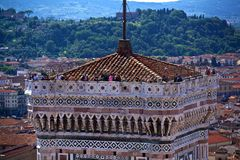 Giotto's Bell Tower Stock Photography