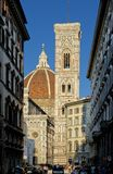 Giotto's Bell Tower Stock Images