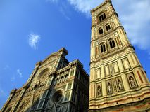 Italy, Tuscany: Giotto Tower in Florence. royalty free stock images