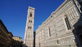 Giotto's campanile. The famous landmark campanile di Giotto, close to Duomo di Firence Royalty Free Stock Image